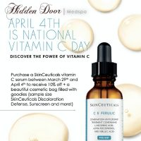 Hidden Door - SkinCeuticals Vitamin C Day - Save 10% + FREE GIFT