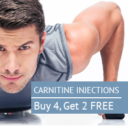 Carnitine Injections - Buy 4, Get 2 FREE